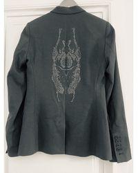 Zadig & Voltaire Veste polyester gris