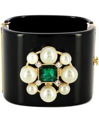 Chanel Bracelet résine noir