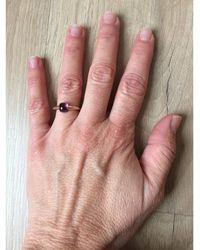 Pomellato Bague or rose violet