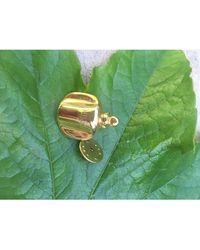 Dior Pin's métal doré - Métallisé