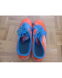 adidas Baskets synthétique bleu