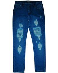 The Kooples Jeans large, boyfriend jeans bleu