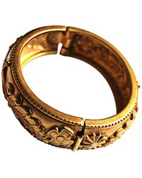 Lanvin Bracelet métal doré - Métallisé