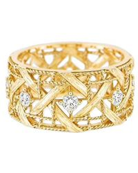 Dior Bague or jaune blanc