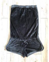 Fendi Combishort coton noir