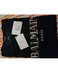 Balmain Tee-shirt coton noir
