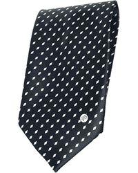 Versace Cravate soie noir