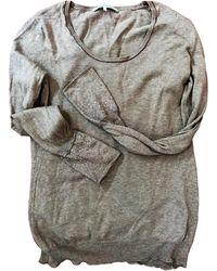 Gerard Darel - Pull coton marron - Lyst