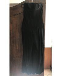 Balmain Combinaison laine noir