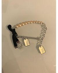 Dior - Bracelet perle blanc - Lyst