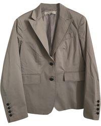 Gerard Darel Tailleur pantalon coton gris