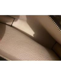 Louis Vuitton Pochette cuir Pochette Toilette marron