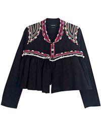Isabel Marant - Veste coton noir - Lyst