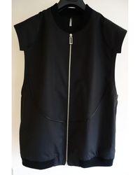 Dior - Blouson coton noir - Lyst