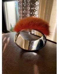 Fendi - Bracelet acier argent - Lyst