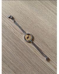 BVLGARI Bracelet acier argent - Métallisé