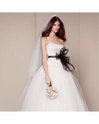 Vera Wang Robe de mariée soie blanc