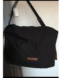 Lancel - Sac XL en tissu toile noir - Lyst
