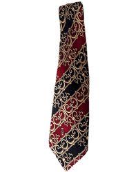Lanvin Cravate soie autre - Multicolore