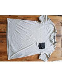 The Kooples Tee-shirt coton gris