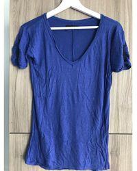 The Kooples Top, tee-shirt viscose violet