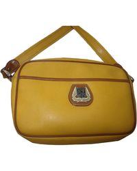 Lancel - Sac en bandoulière en cuir cuir jaune - Lyst