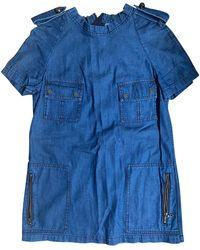 Lanvin Tunique denim, jean bleu