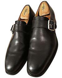 Church's Chaussures à boucles cuir noir