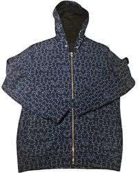 Givenchy Gilet, cardigan coton bleu