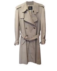 Burberry - Imperméable, trench coton beige - Lyst