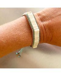 Isabel Marant - Bracelet nacre blanc - Lyst