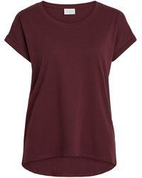 Vila Ronde Hals Basic T-shirt - Meerkleurig