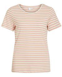 Vila Ronde Hals T-shirt - Meerkleurig