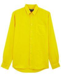 Vilebrequin Hemd - Gelb