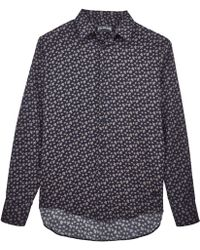 Vilebrequin - Micro Ronde Des Tortues Cotton Veil Shirt - Lyst