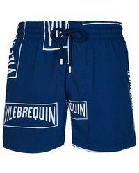 Vilebrequin Badeshorts - Blau