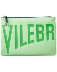 Vilebrequin Zipped Beach Bag Solid - Green