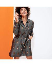 Vilebrequin - Silk Dress Paon Paon - Lyst