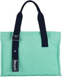 Vilebrequin Small Cotton Beach Bag Solid - Verde