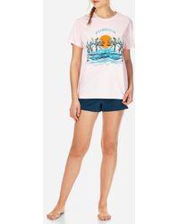 Vilebrequin Women Cotton T-shirt Vilebrequeen - Multicolour