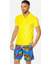 Vilebrequin Terry Cloth Polo Shirt Solid - Yellow