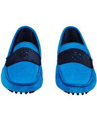 Vilebrequin Men Very soft Daim Loafers Solid - Azul
