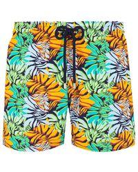 Vilebrequin Swimwear Stretch Jungle - Blue