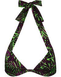Vilebrequin Top bikini donna all'americana madrague - costume da bagno - loli - Verde