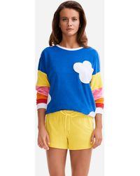 Vilebrequin - Women Terry Sweat Shirt Clouds - X Jcc+ - Limited Edition - Lyst