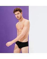 Vilebrequin Fitted Swim Brief Solid - Black
