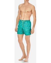 Vilebrequin - Men Swimwear Embroidered Hypnotic Turtles - Limited Edition - Lyst
