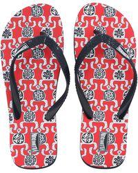 Vilebrequin Flip Flop - Red