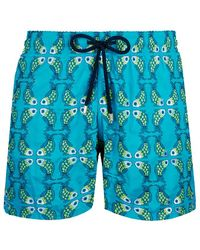 Vilebrequin Swimwear Embroidered Sweet Fishes - Limited Edition - Blue