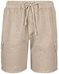 Vilebrequin Bermuda Shorts - Natural